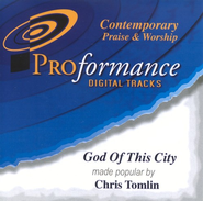 God Of This City, Accompaniment CD   -     By: Chris Tomlin