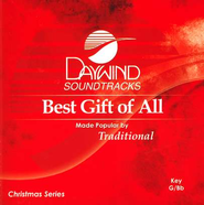 Best Gift of All, Accompaniment CD   -     By: Traditional
