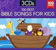 100 Best Bible Songs for Kids (3 Disc Set)   -