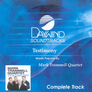 Testimony, Complete CD Tracks   -     By: Mark Trammell Quartet