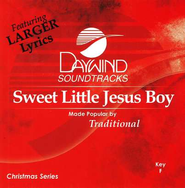 Sweet Little Jesus Boy, Accompaniment CD   -     By: Traditional