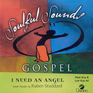 I Need An Angel, Accompaniment CD   -     By: Ruben Studdard
