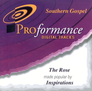 The Rose, Accompaniment CD   -     By: The Inspirations
