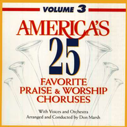 America's 25 Favorite Praise & Worship, Volume 3 CD   -