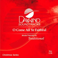 O Come All Ye Faithful, Accompaniment CD   -     By: Christmas