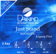 Just Stand   -     By: Legacy Five