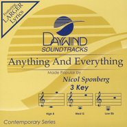 Anything and Everything, Accompaniment CD   -     By: Nicol Sponberg