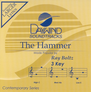 The Hammer, Accompaniment CD   -     By: Ray Boltz