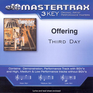 Offering, Accompaniment CD   -     By: Third Day