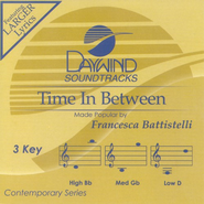 Time In Between, Accompaniment CD   -     By: Francesca Battistelli