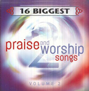 16 Biggest Praise & Worship Songs, Volume 2, Compact Disc [CD]   -