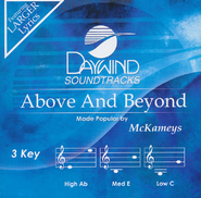 Above And Beyond, Accompaniment CD   -     By: The McKameys