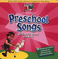 Preschool Songs CD   -     By: Cedarmont Kids