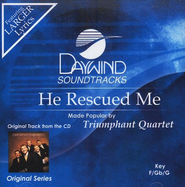 He Rescued Me, Accompaniment CD   -     By: Triumphant Quartet