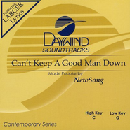 Can't Keep A Good Man Down, Accompaniment CD   -     By: NewSong