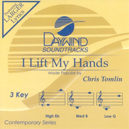 I Lift My Hands, Accompaniment CD   -     By: Chris Tomlin
