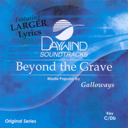 Beyond the Grave, Accompaniment CD   -     By: The Galloways
