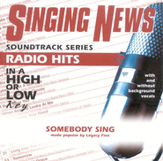 Somebody Sing, Accompaniment CD   -              By: Legacy Five