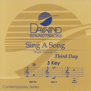 Sing A Song, Accompaniment CD   -     By: Third Day