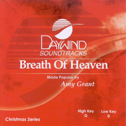 Breath of Heaven, Accompaniment CD   -              By: Amy Grant