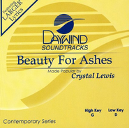 Beauty for Ashes, Accompaniment CD   -     By: Crystal Lewis