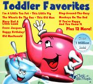 Toddler Favorites CD   -