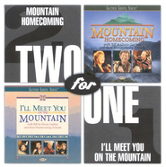 Mountain Homecoming/I'll Meet You On The Mountain CD   -              By: Bill Gaither, Gloria Gaither, Homecoming Friends