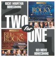 Rocky Mountain/Red Rocks Homecoming CD   -     By: Bill Gaither, Gloria Gaither, Homecoming Friends