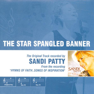 The Star Spangled Banner, Accompaniment CD   -              By: Sandi Patty