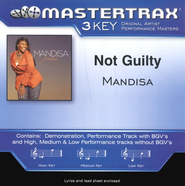 Not Guilty (High Key-Premiere Performance Plus w/o Background Vocals)  [Music Download] -     By: Mandisa