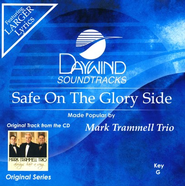 Safe On The Glory Side, Accompaniment CD   -     By: Mark Trammell Trio