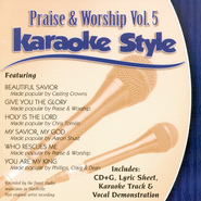 Praise & Worship, Volume 5, Karaoke Style CD   -