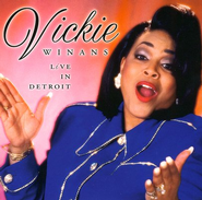 Live In Detroit CD   -     By: Vickie Winans