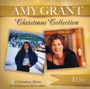 A Christmas Album/A Christmas to Remember--2 CDs   -     By: Amy Grant