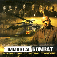 Immortal Kombat CD   -     By: Various Artists