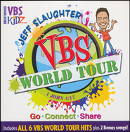 Jeff Slaughter VBS World Tour:  VBS Listening CD  -     By: Jeff Slaughter