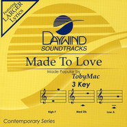 Made to Love (Burn on Demand), Accompaniment CD   -              By: tobyMac