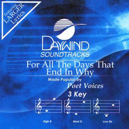 For All The Days That End In Why, Accompaniment CD   -     By: Poet Voices