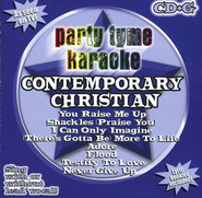 Party Tyme Karaoke: Contemporary Christian (8+8 Track Version) CD   -