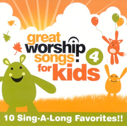 Great Worship Songs for Kids 4 CD   -