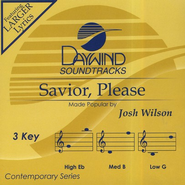 Savior, Please, Accompaniment CD   -     By: Josh Wilson
