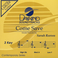 Come Save, Accompaniment CD   -     By: Sarah Reeves