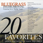 "20 Favorite Bluegrass Instrumentals CD   -     By: Steve ""Rabbit"" Easter"
