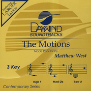 The Motions, Accompaniment CD   -     By: Matthew West