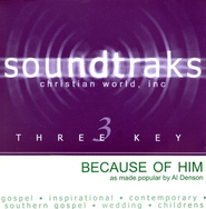 Because Of Him, Accompaniment CD   -              By: Al Denson