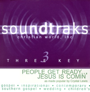 People Get Ready... Jesus Is Comin', Accompaniment CD   -     By: Crystal Lewis
