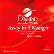 Away in a Manger, Accompaniment CD   -     By: Christmas