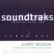 Every Season, Accompaniment CD   -     By: Nichole Nordeman