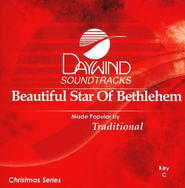 Beautiful Star of Bethlehem, Accompaniment CD   -     By: Christmas