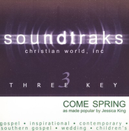 Come Spring, Accompaniment CD   -     By: Jessica King